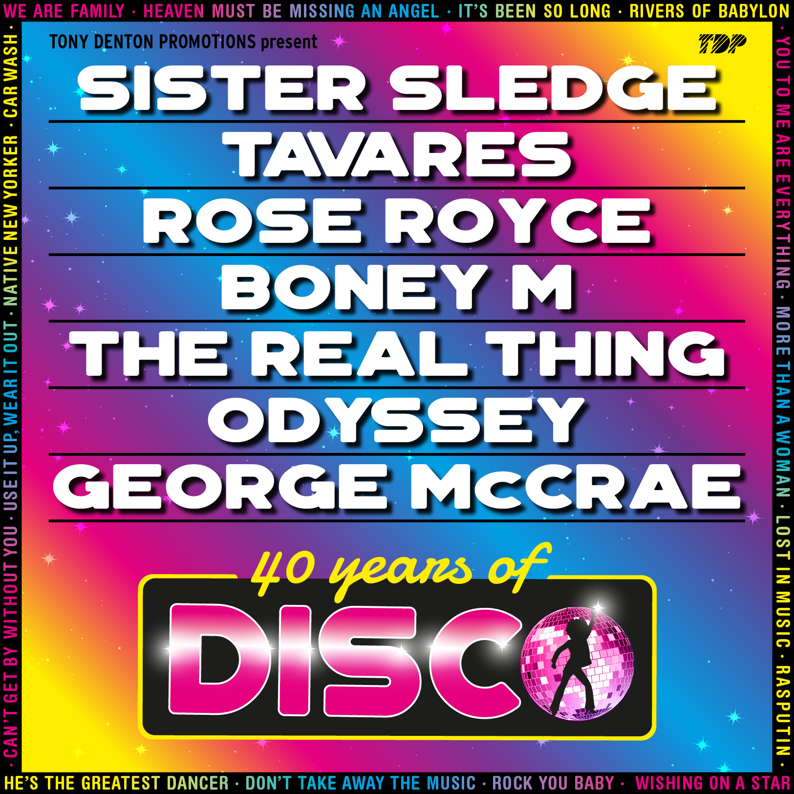 40 Years Of Disco 2018